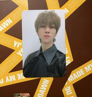 Seventeen you made my dawn Minghao/The 8 photocard