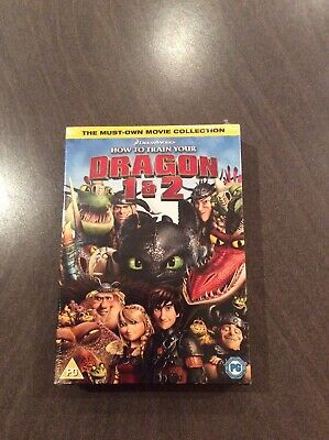 How to Train Your Dragon 1 & 2 [DVD]