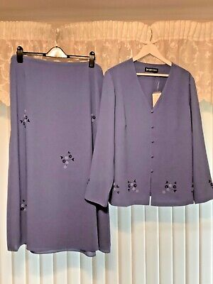 Ladies Jacques Vert occasion suit Brand New size 20
