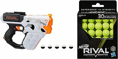 NERF Rival Heracles XIX-500 Camo Series Blaster with 5 Official Rival Rounds...