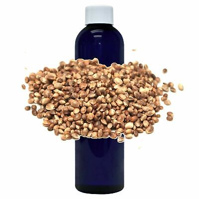 Medical Grade Natural Hemp Seed Oil Cold Pressed Pure Unrefined Hemp Oil 8 Oz