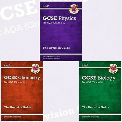 GCSE AQA 9-1 Science Revision Guide Biology Chemistry Physics