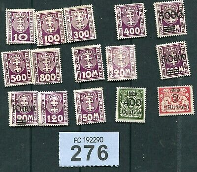 Lot of   stamps     of   Germany,   Danzig