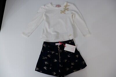 lili gaufrette Outfit New Shorts & Top Bnwts Age 3-4 Years