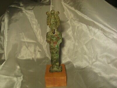 Large Ancient Egyptian Bronze Amulet