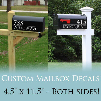 Custom Mailbox Address Decals House Number Stickers for Mailboxes New Home Gift