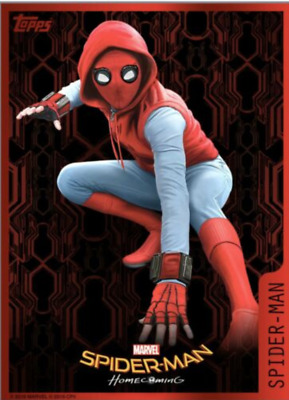 Topps Marvel Collect Spider-Man Homecoming Box Character Art Super Rare Digital