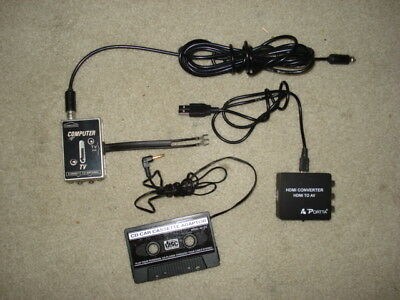 HDMI converter, CD Car Cassette Adapter, Computer to TV Switch
