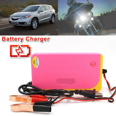 Car Motorcycle Battery Charger 12V 4A Fully Automatic Smart Power Char Output