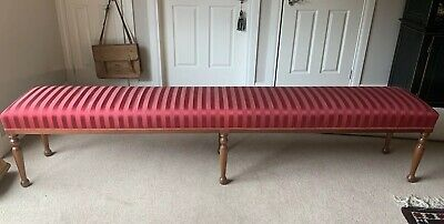 Stunning Antique Hallway Bench Restored Suit French Provincial Styling
