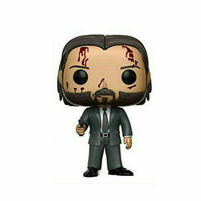 Stock New Funko Pop! Movies #387 John Wick Chapter 2 Bloody Chase Protector Box