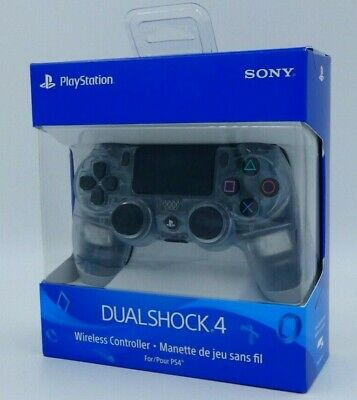 SONY DualShock 4 Wireless Controller Crystal Clear Playstation 4 PS4 CUH-ZCT2U