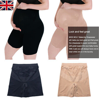 Women Maternity Shaper Tights Mama Seamless Support Pregnancy Comfort Fit Panty