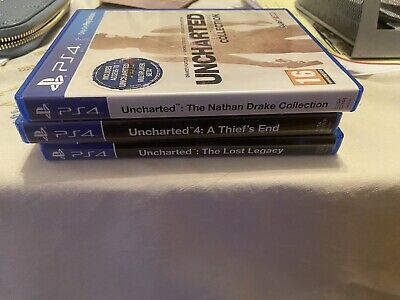 Uncharted PS4 - 3 Games