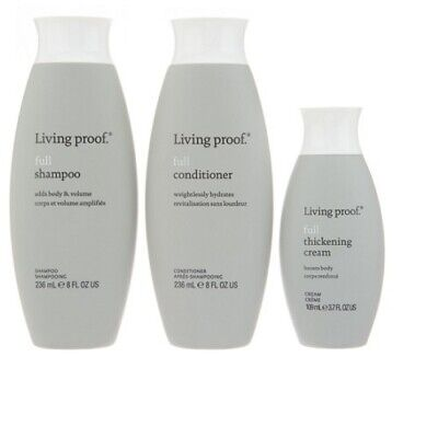 living proof Be Joy full Set (Shampoo, Conditioner , Thicken Cream)