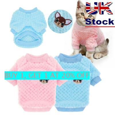 UK New Fashion Knitted Puppy Dog Jumper Sweater Pet Clothes For Small Dogs Coat