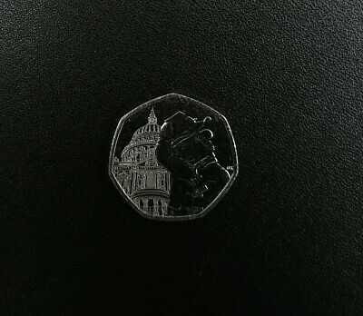 2019 Paddington Bear at St Paul's Cathedral 50p Coin New From Sealed Bag