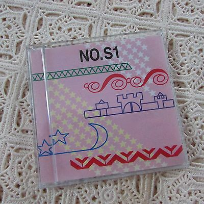 Brother Embroidery Card Stitch Designs No.S1 RARE Fits PE 7000 and PE 7500 ONLY