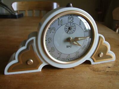 French Art Deco Bakelite  Alarm Clock