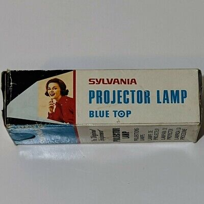 Sylvania projector lamp ( blue top ) 250v 500w P28S made in Japan.