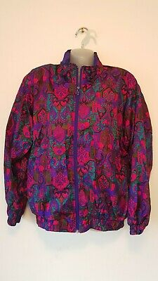 Urban renewal,Ladies Vintage 80s Jacket, shell suit style. Used but great con.