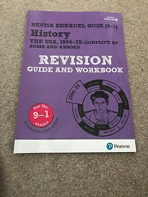 Revise Edexcel GCSE (9-1) History The USA Revision Guide and Workbook: (with...