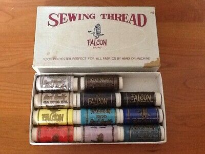 VINTAGE Sewing Thread By Falcon X 11