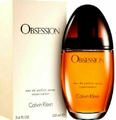 OBSESSION By Calvin Klein Perfume For Women 3.4 - .5 oz EDP Spray NEW IN BOX