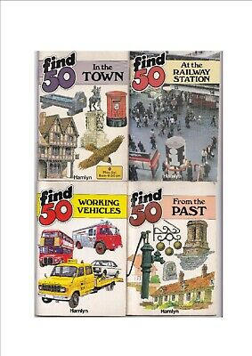 Find 50 (Collection of 4 Books) (Condition ok) (UK Bidders Only Please)