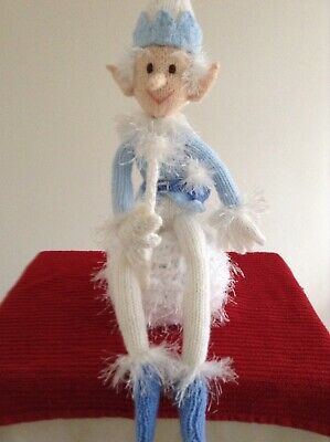 Hand Knitted Jack Frost Decoration