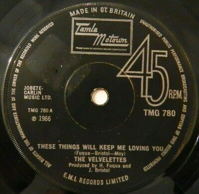 The Velvelettes - These Things Will Keep Me Loving You - Motown Northern Soul