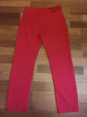 Gap Girls Red Trousers Age 12 Capri Style