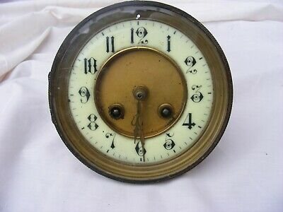 Vintage Clock Face And Workings For Clock Front Enamel Face Clock
