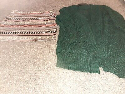 Ladies Next Skirt & F&F Cardigan Size 18 Bundle