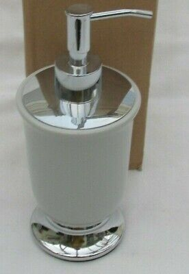 Marks And Spencer Grey And Silver Soap Dispenser
