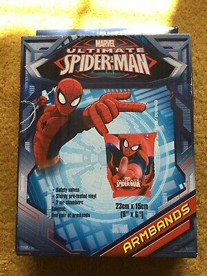 Marvel Ultimate Spiderman Swim Aids 1 Set of Arm Bands