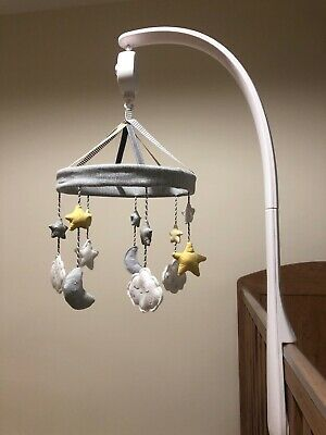 Mamas And Papas Cot Mobile - Stars Clouds Moons