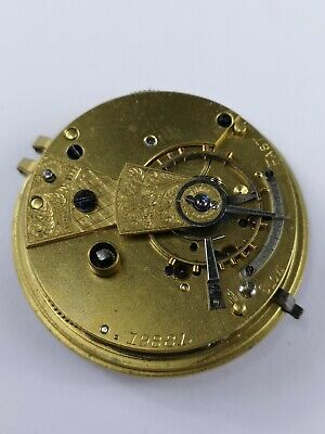 Pocket Watch Movement - Good Quality - Frame by James Berry, Prescot (D56)
