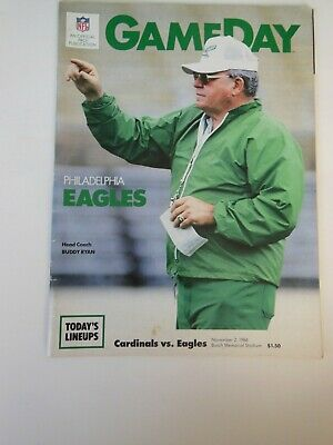 Philadelphia Eagles vs St Louis Cardinals GameDay NFL Football Program 2003