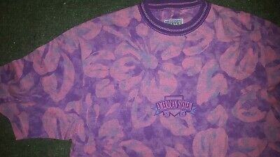 AMERICAN SYSTEM T-SHIRT SIZE xl MADE IN ITALY paninari maglia trikot