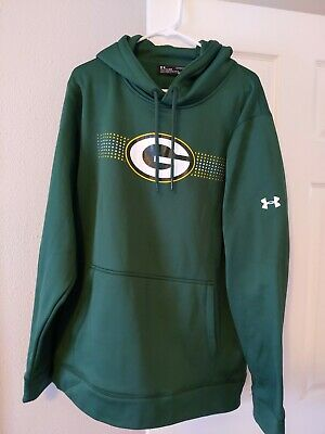 NWT Under Armour Green Bay Packers Hoodie Sweatshirt Size XL NFL Licenced...