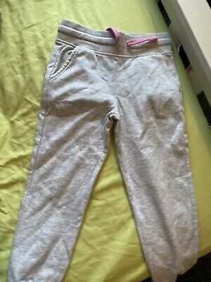 Girls Grey Joggers Aged 5-6 Years