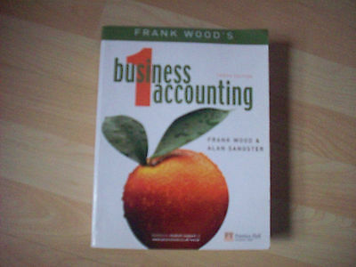 Business Accounting: v. 1 by Alan Sangster, Frank Wood (Paperback, 2005)