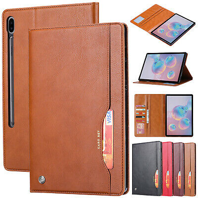 "For Samsung Galaxy Tab S6 10.5"" T860 / T865 Flip Leather Wallet Stand Case Cover"
