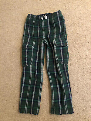 Mini Boden Boys Checked Trousers - Age 6 - Great Condition