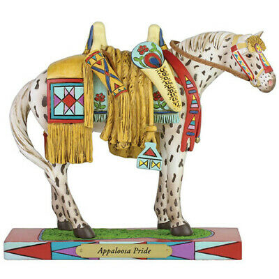 Trail of Painted Ponies Appaloosa Pride Figurine