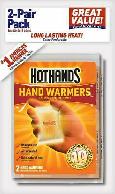 Heatmax Hothands Hand Warmers, 12 Count (6 Pack With 2 Warmers Per Pack) Up To 8