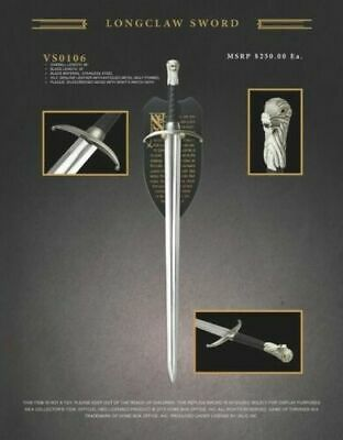 Game of Thrones Longclaw Sword of Jon Snow - Official HBO Licensed Product
