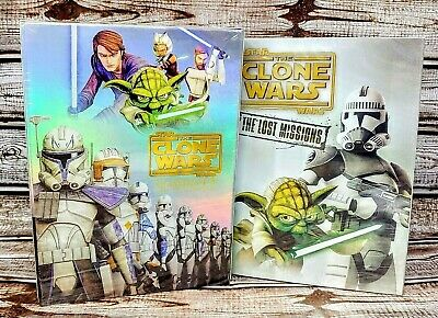 Star Wars DVD The Clone Wars Complete Series Seasons 1-5 + The Lost Missions NEW