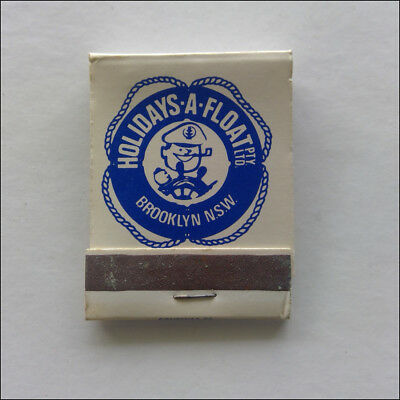 Holiday-A-Float Brooklyn NSW 65 Brooklyn Rd 024551368 Matchbook (MK55)